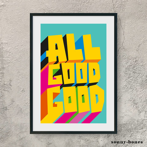 ALL GOOD GOOD (yellow)