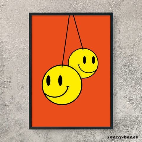 SMILEY FACE (orange)