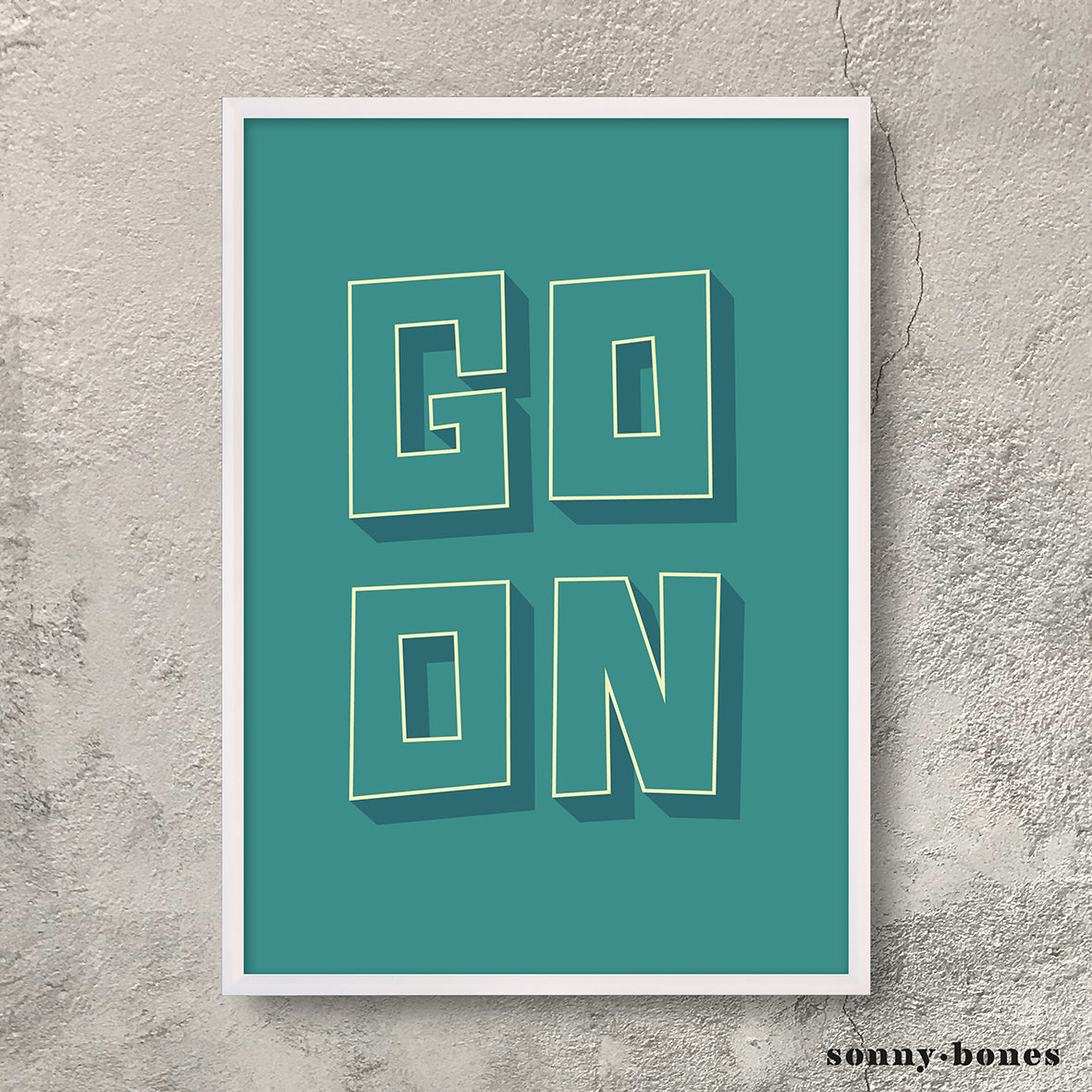 GO ON (green)