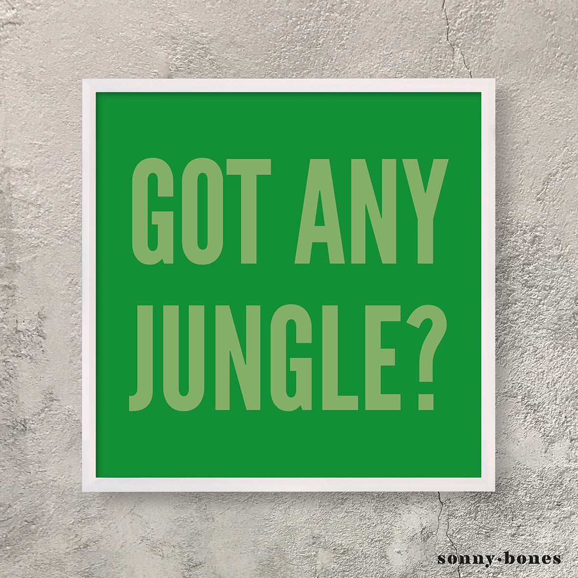 JUNGLE (green)