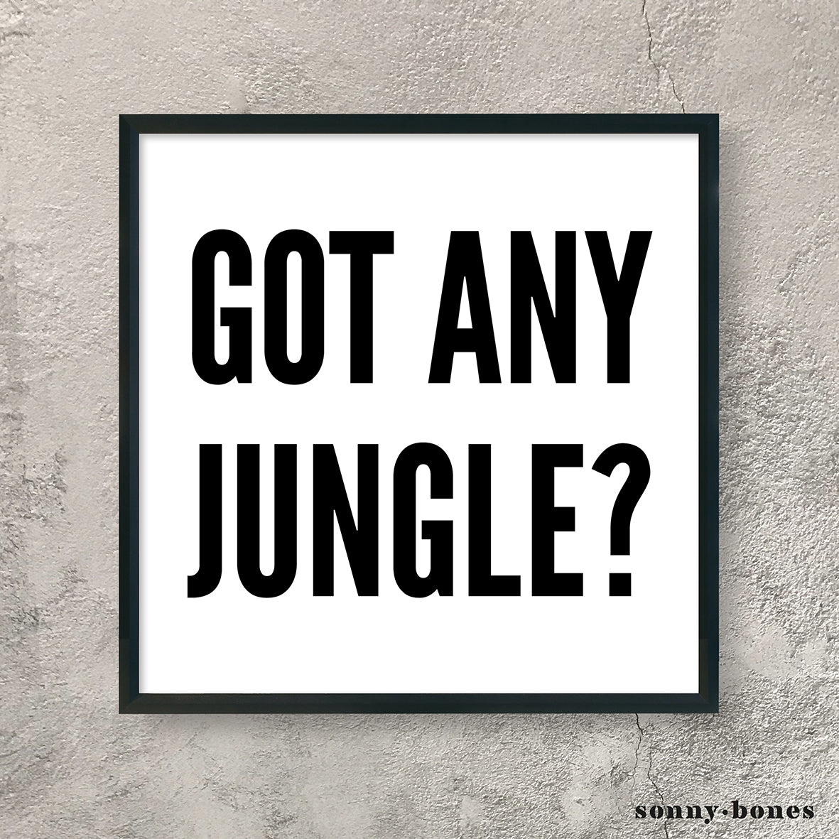 JUNGLE (black/white)