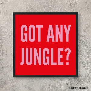 JUNGLE (red/pink)