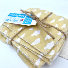 Load image into Gallery viewer, Mellow Yellow - Bamboo Cloths - 7 Pack