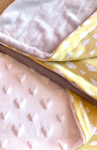 Load image into Gallery viewer, Mellow Yellow Plush Blanket