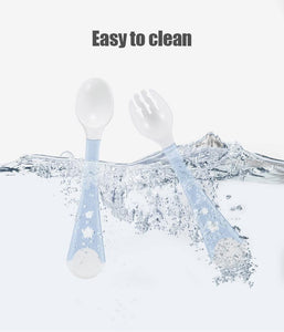 Bendable Fork and Spoon Set - Baby Castle Australia