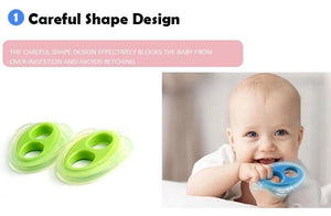 Popsicle Teether with Case and Strap for 3 Months+ - Baby Castle Australia