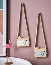 Load image into Gallery viewer, Vintage Baby Wooden Toy Camera