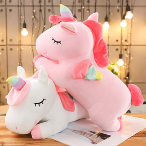 Unicorn Plush Companion Toy - 50cm