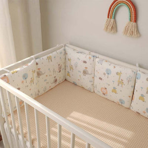 Baby Cot Bumper Cushion Set (6pcs)