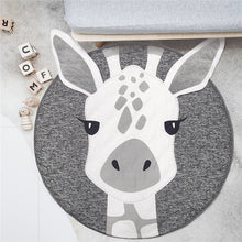 Load image into Gallery viewer, Nordic Animals Cotton Baby Playmat