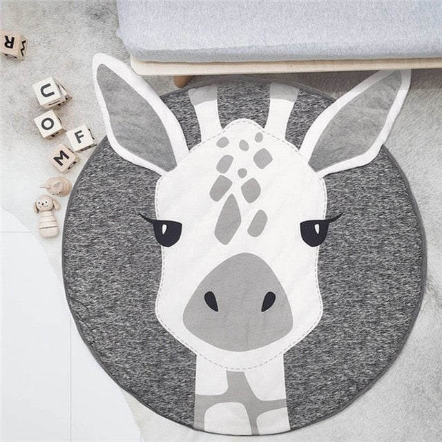 Nordic Animals Cotton Baby Playmat