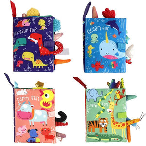 Baby Learning Soft Book - Baby Castle Australia
