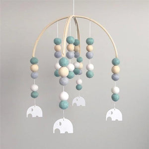 Wooden Beads Wind Chimes - Baby Castle Australia