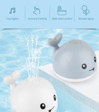 Load image into Gallery viewer, Sprinkler Whale with Light - Baby Castle Australia
