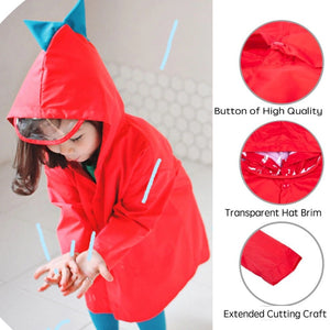 Kids Dinosaur Raincoat - Baby Castle Australia
