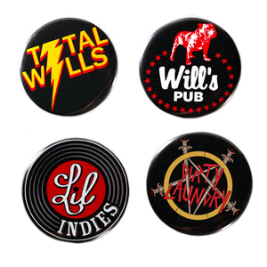Large Button Pack (4 Pack)