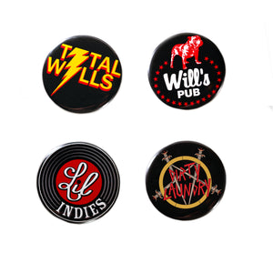 Small Button Pack (4 Pack)