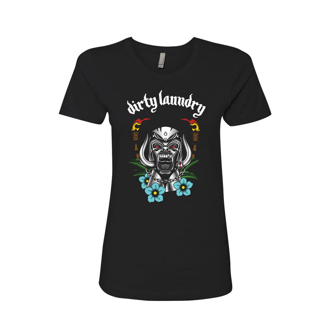 Dirty Laundry - Tiki God Ladies Tee