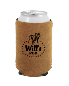 Will's Pub - Bourbon Suede Coozie
