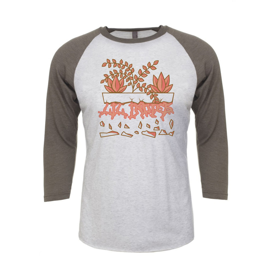 Lil' Indies - Broken Planter Baseball Tee