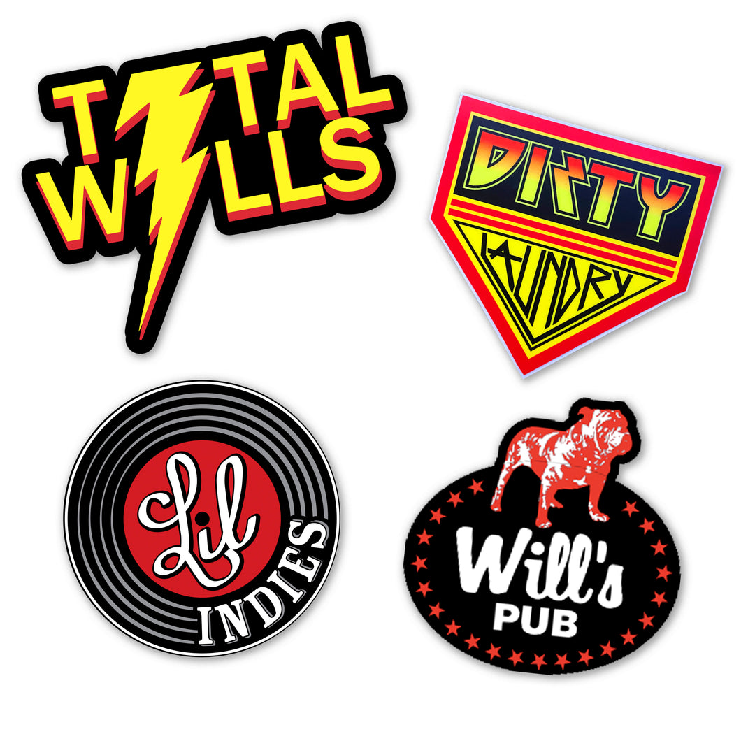 Sticker Pack (4 Pack)
