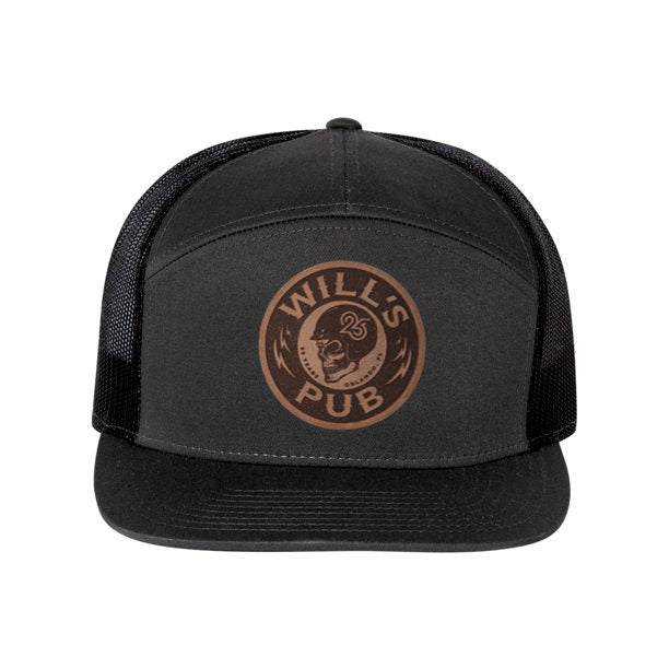25th Anniversary Leather Patch Hat (Black)