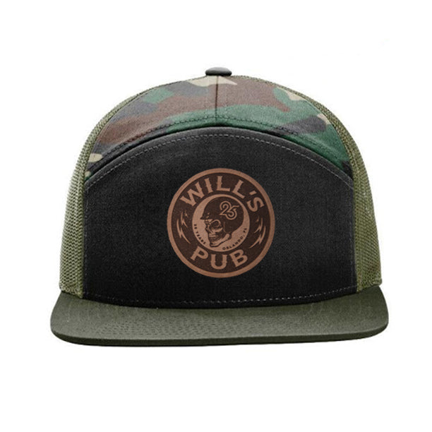 25th Anniversary Leather Patch Hat (Camo)