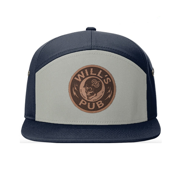 25th Anniversary Leather Patch Hat (Navy/Pigeon)