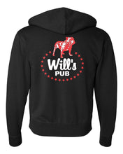 Load image into Gallery viewer, Will's Pub - Classic Bulldog Zip-Up Hoodie
