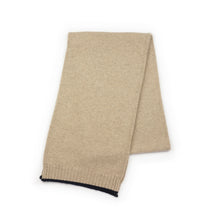 Load image into Gallery viewer, MEN'S CASHMERE BEIGE SCARF