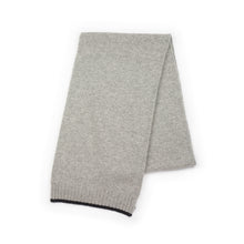 Load image into Gallery viewer, MEN'S CASHMERE SILVER SCARF