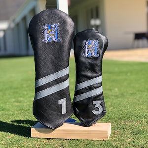 Links and Kings Leather Headcover with Monogram