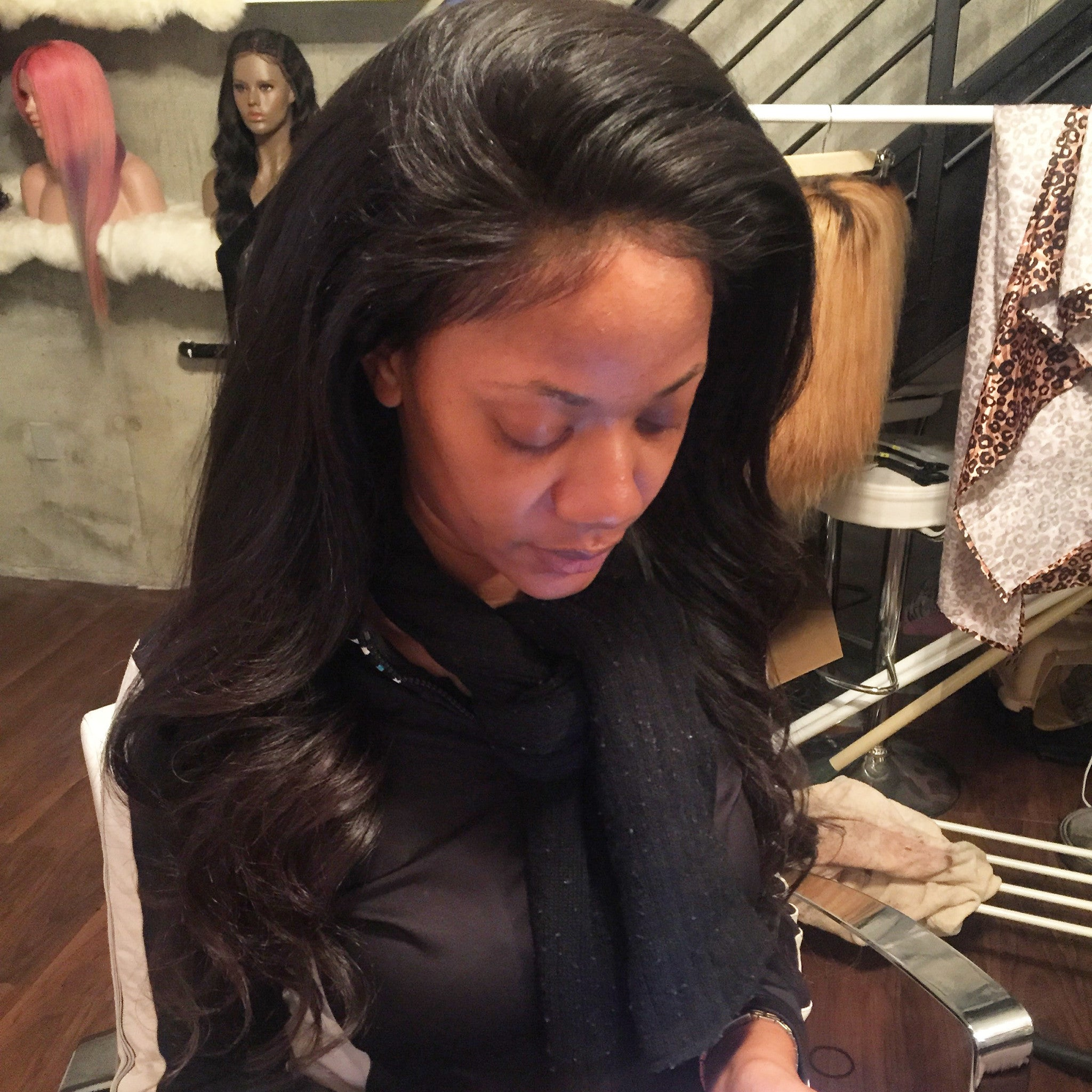 Lace frontal install Tallecouture.com
