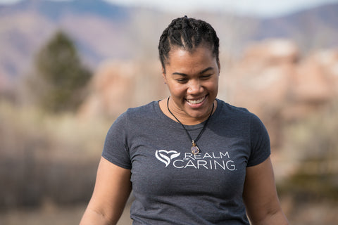 Realm of Caring Logo T-Shirt
