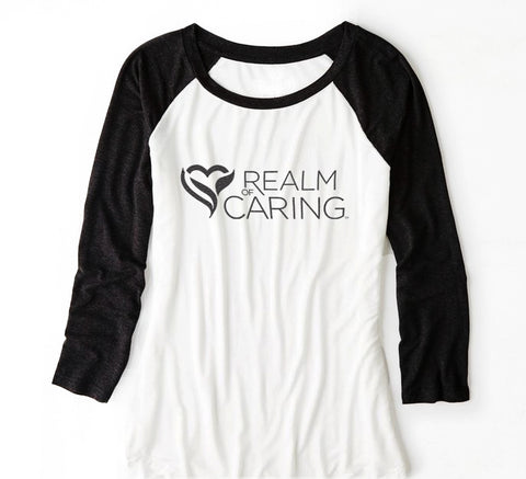 Realm of Caring Baseball T