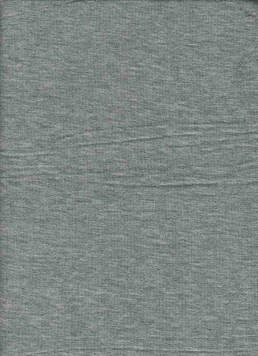 KNT-2432 H.GREY KNITS FRENCH TERRY SOLIDS