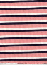 Load image into Gallery viewer, KNT-50206-4X2 POLY RAYON SPANDEX YARN DYE RIB STRIPE