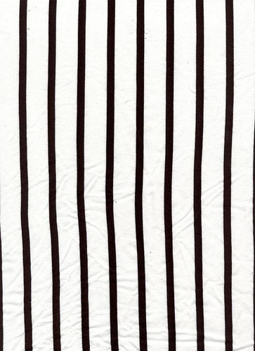D2052-ST50217 C1 WHITE/BLACK BRUSH PRINT STRIPES COZY FABRICS DTY