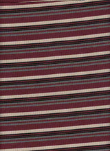 Load image into Gallery viewer, KNT-2213-4X2 POLY RAYON SPANDEX YARN DYE RIB STRIPE