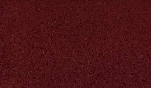 KNT-2052 BURGUNDY COZY FABRICS DTY BRUSH SOLID