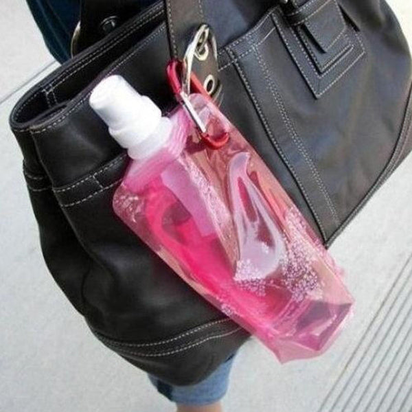 Portable 500ML Folding Water Bottle