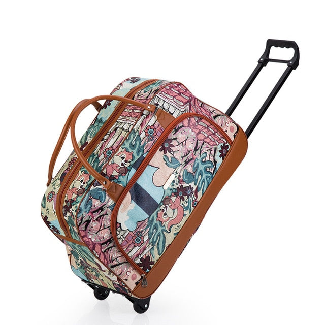 Travel Suitcase On Wheels
