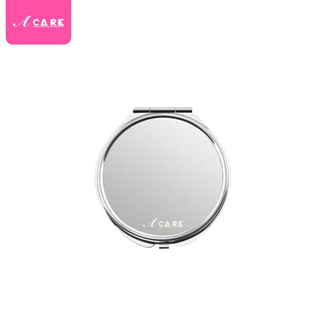 Compact Purse Mirror Double Sided 5X and 1X Magnification