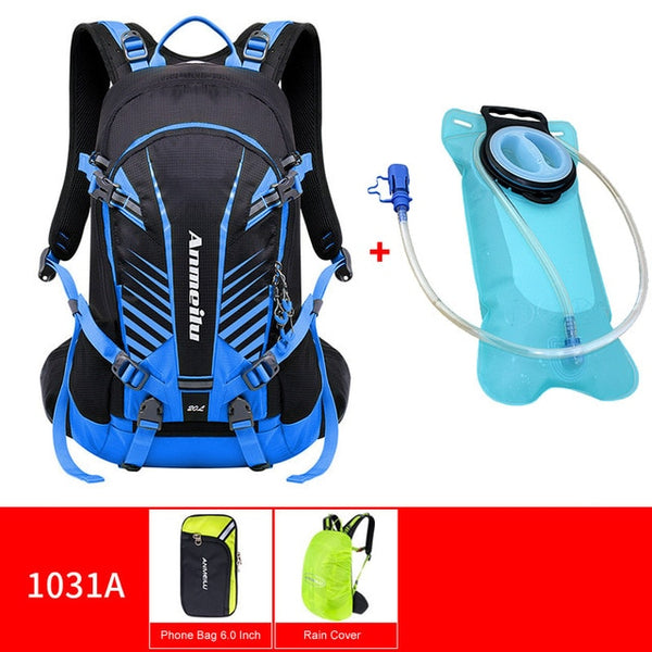 20L Waterproof Climbing Bag with Water Bottle