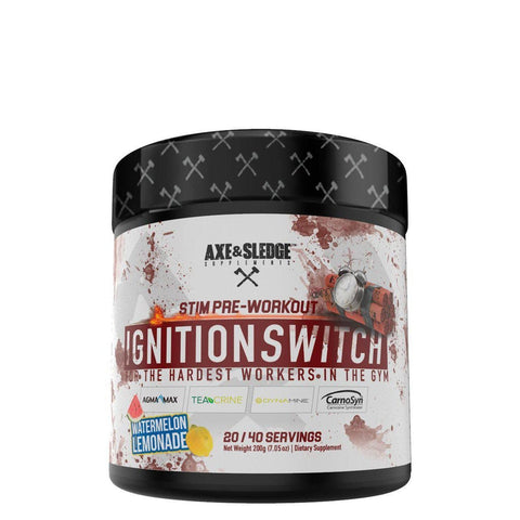 Axe & Sledge Ignition Switch-Pre Workout-Axe & Sledge-GDLKGNZ