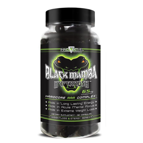 Black Mamba Hyperrush 90c-Weight Loss-Innovative Laboratories-GDLKGNZ