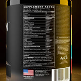 Black Market Labs AdreNOlyn Underground Supplement Facts