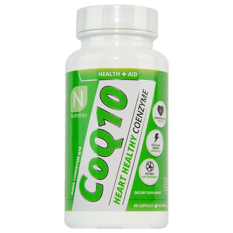 CoQ10 60 Capsules-Nutrakey-GDLKGNZ