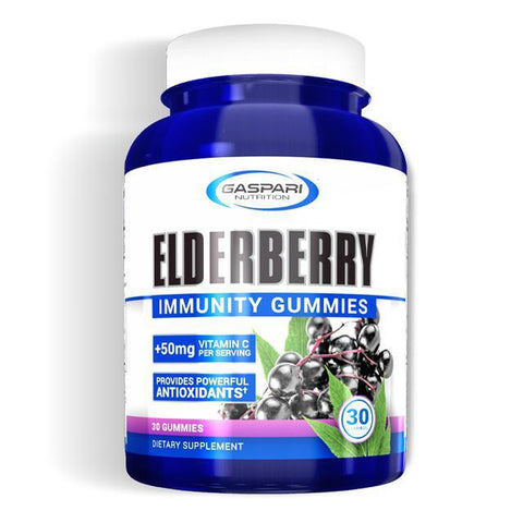 Gaspari Nutrition Elderberry Immunity Gummies