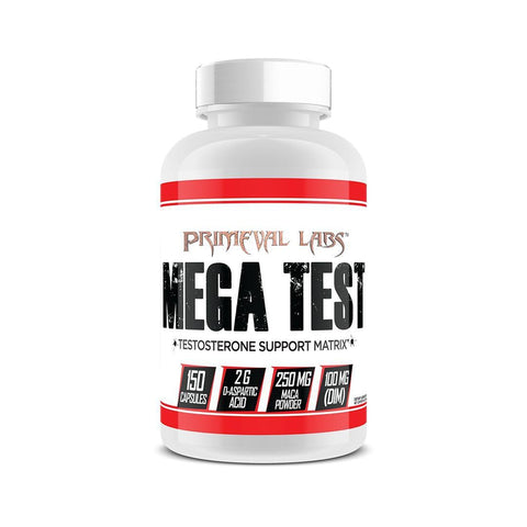 Mega Test 150 Capsules-Hormone Support-Primeval Labs-GDLKGNZ